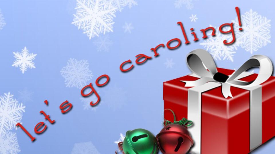 Kids Caroling!
