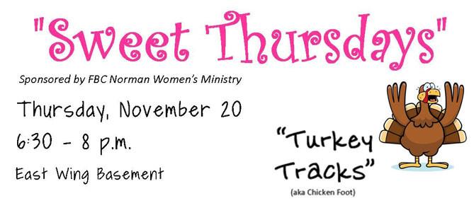 Sweet Thursday-November 2014