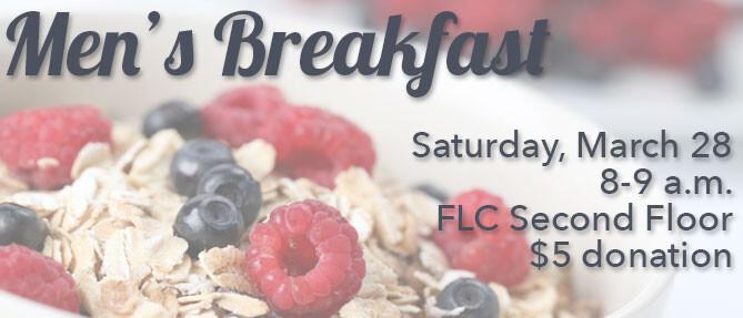 March 2015 Men's Breakfast