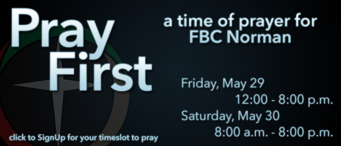 Pray First