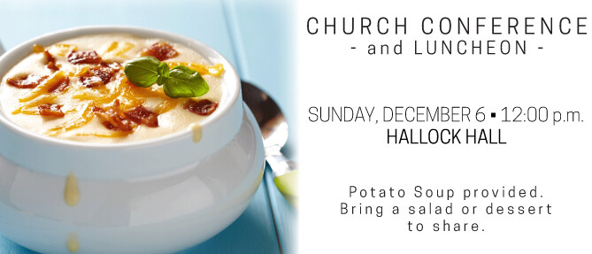 Church Conference & Luncheon