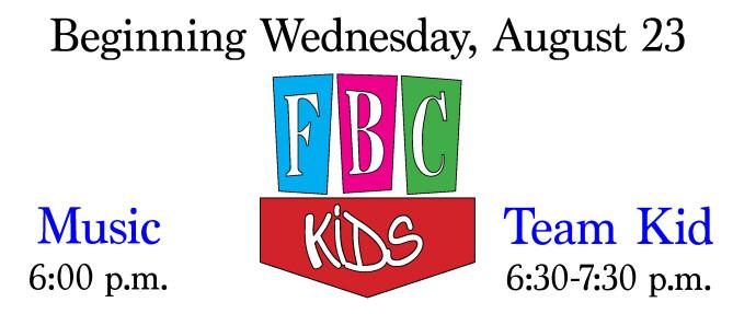 FBC Kids