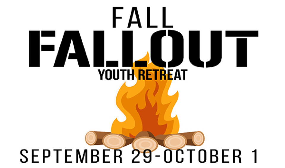 Youth Ministry Fall FallOut Retreat