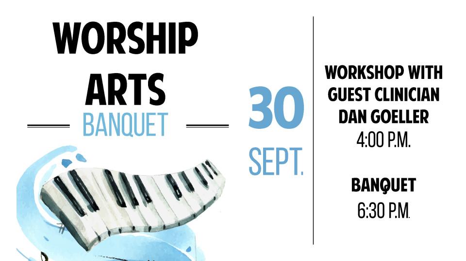 Worship Arts Banquet