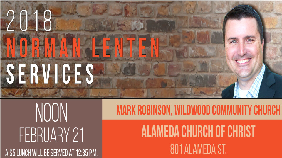 2018 Norman Lenten Services