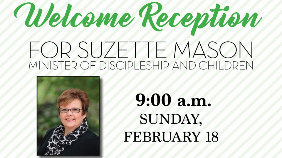 Suzette Mason Welcome Reception