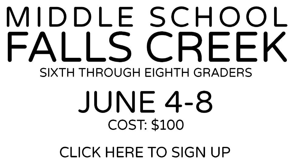 Middle School Falls Creek