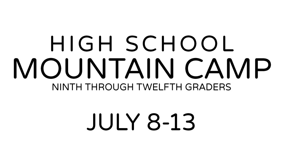 High School Mountain Camp