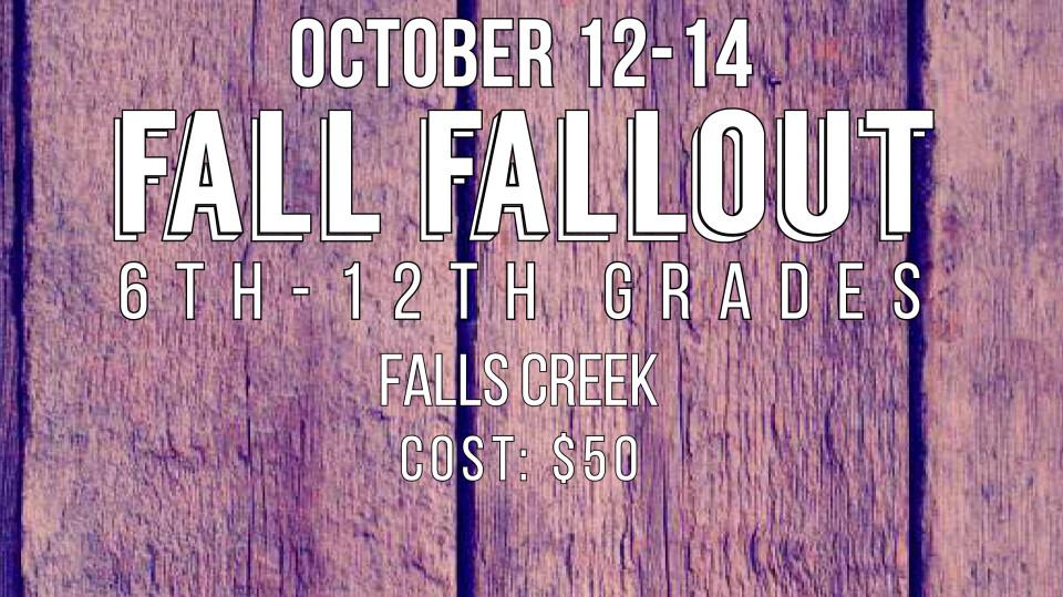 Youth Fall FallOut
