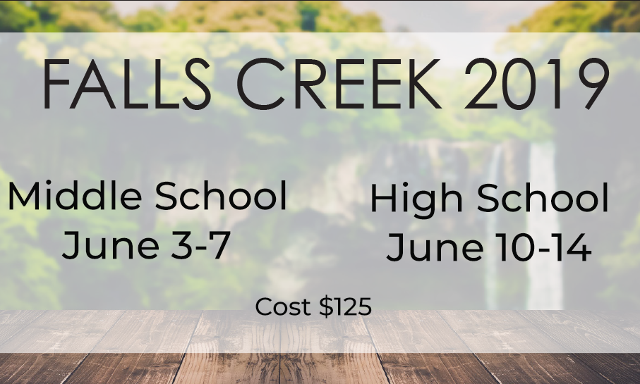 High School Falls Creek