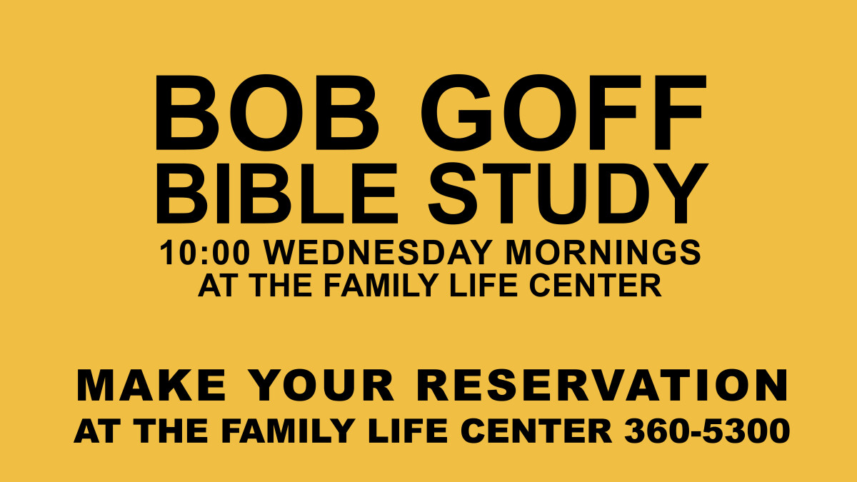 Dream Big Bible Study with Bob Goff