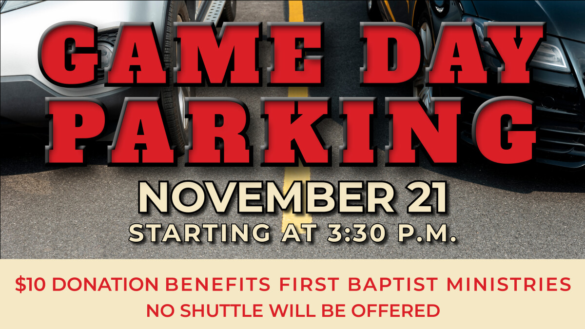 Bedlam Game Day Parking