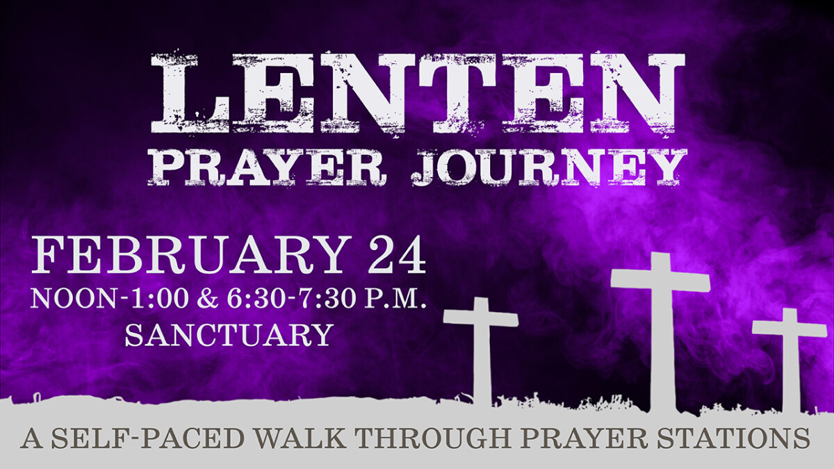 Lenten Prayer Journey